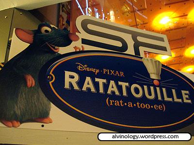 Ratatouille - first peek - Alvinology
