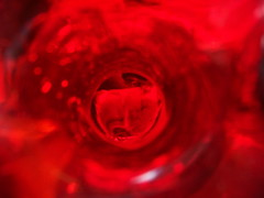 this is red (spryngtree) Tags: red abstract glass experiment onecolor colorfield colorart colourartaward