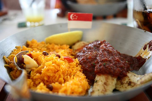 Sambal Fish and Cajun Rice