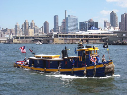 Vintage Small Tugboat