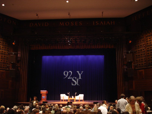 101 in 1001: 093 attend a lecture at the 92nd st Y
