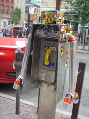 robot phone booth