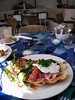 Egg florentine (Jon Southcoasting) Tags: breakfast brighton insideoutcafe