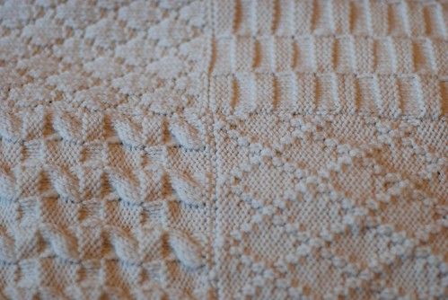 Sampler Blanket Close up