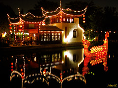 Chinese garden - Montreal (Nino H) Tags: canada reflection colors night botanical bravo quebec montreal couleurs magic jardin qubec lanterns chinois botanique nuit winners chinesse graden lanternes magie rflexion supershot mywinners anawesomeshot aplusphoto goldenphotographer theperfectphotographer