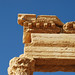 Drain like Lion Head in Palmyra, Syria