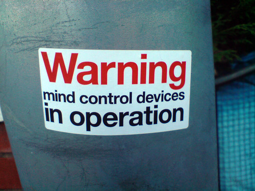 WARNING mind control devices in operation