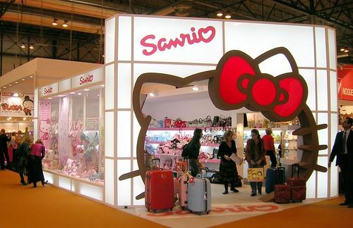 Sklep Hello Kitty w Madrycie