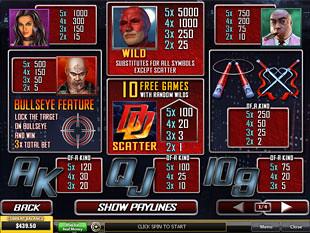 free Daredevil slot mini symbol