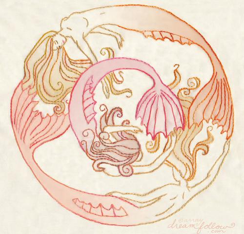 mermaids circle