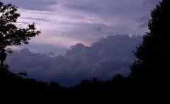 Storm Headed Northeast (ladyinpurple/Now to get my files transfered) Tags: storm wisconsin clouds explore northeast purplesky supershot justclouds explore6207 wisconsinthunderstorms