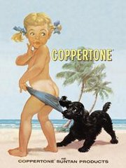 Coppertone girl