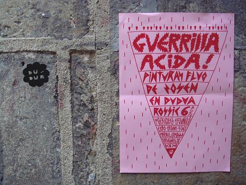Guerilla Acida! by Zosen en Duduá