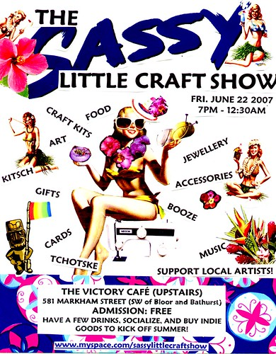 sassy little craft show bigger
