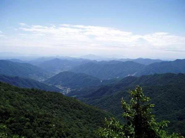 Вид на Южную Корею
