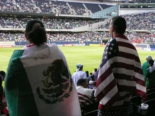 U.S.-Mexico fans
