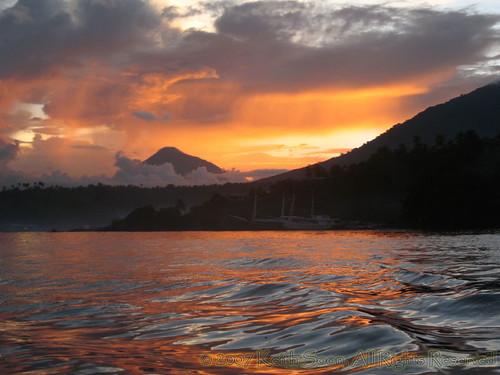Lembeh Sunset