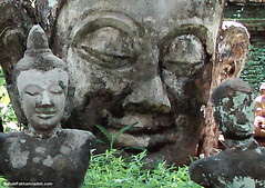 A laughing buddha