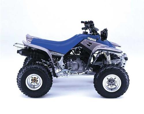 Quad Yamaha Warrior  Backrest
