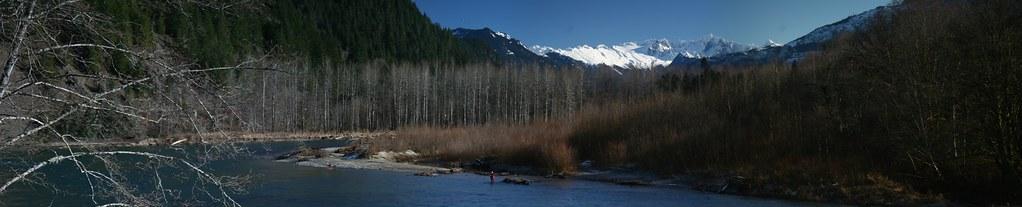 Skagit River, Highway 20 , WA