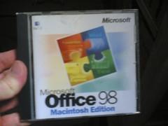 office 98 (austrianpsycho) Tags: apple macintosh office mac cd 98 microsoft ms hlle office98 macintoshedition