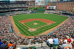 Camden Yards (avraham bank) Tags: baseball roberts orioles tejada camdenyards bako contreras baltimoreorioles fahey bedard colorphotoaward trembley colourartaward mazone burres