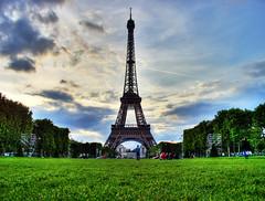 Tour Eiffel - HDR - Eiffel Tower Paris