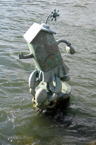 NYC - Roosevelt Island: Tom Otterness' Marriage of Money and Real Estate