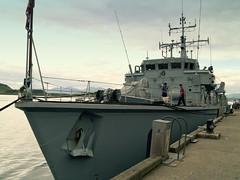 HMS Chiddingfold (Citril) Tags: sea ship oban sailor minesweeper royalnavy northpier m73 hmschiddingfold