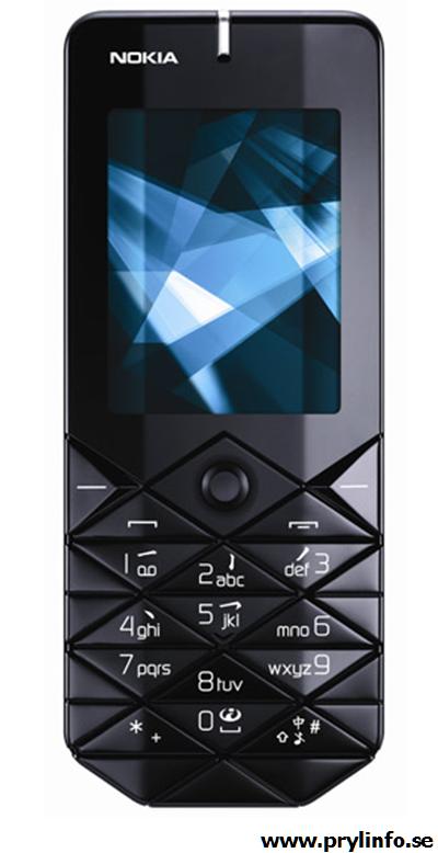 nokia 7500 prism mobil telefon prylar gadgets