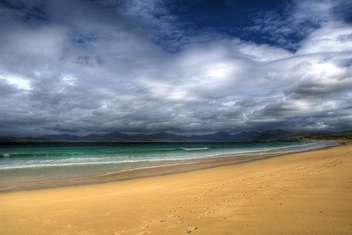 The Deserted Beaches Of Harris - HDR