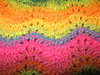 Feathers and Fan Noro Hat