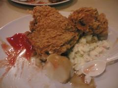 Bestnya KFC tu
