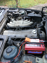 bmw5258 (panzershreck) Tags: car bmw e34 525i