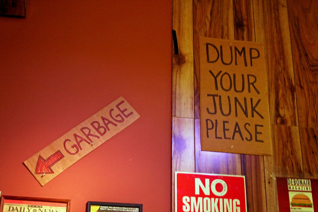 Dump Your Junk...Please