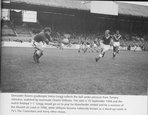 Harry Gregg and Tom Johnston