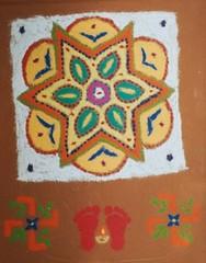 Day-1a-2005 (Dada (Abhijit Chakrabarti)) Tags: diwali rangoli