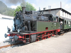 Steamloco ,Hespertalbahn,Essen,Germany (giedje2200loc) Tags: old railroad museum germany essen diesel trains oldtimer bochum oldtimers steamlocomotive hespertalbahn