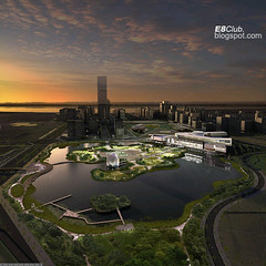 Tay Ho Tay and The Museum of History, Hanoi (E8Club) Tags: lake west history skyline museum project asia downtown skyscrapers centre plan center vietnam tay westlake future highrise western ho hanoi development e8club