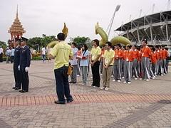 เหล่านักกีฬาฮ่องกง