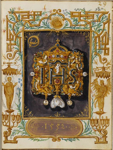 Jewel Book of the Duchess Anna of Bavaria (1550s) k