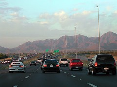 commuters outside Phoenix (by: Octavio Heredia, creative commons license)