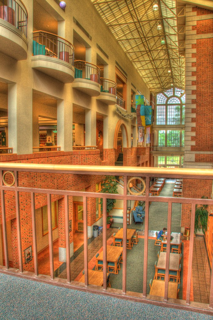 Z. Smith Reynolds Library Atrium