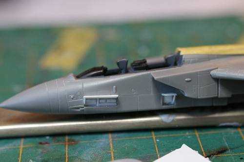 "1/144 RAF Panavia Tornado GR4 ""Shiney Two"" -  Basic Assembly - Wip 3 -"