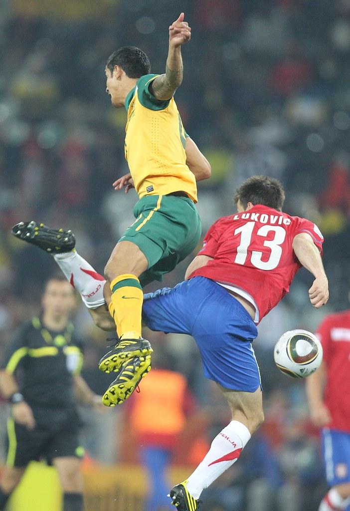 Australia Serbia Mundial Fútbol Sudáfrica