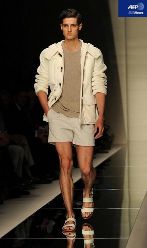 Chris Pulliam3072_SS11_Milan_Salvatore Ferragamo(AFP BB News)