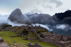 Machu Picchu in sunrise