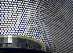 Selfridges Birmingham (david.bank (www.david-bank.com)) Tags: detail architecture modern canon silver birmingham terrace circles balcony systems selfridges future