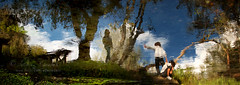 the farewell waltz (Ąиđч) Tags: trees playing reflection andy alberi kids creek river watercolor painting children play action bambini andrea candid fiume strangers andrew oil ruscello gioca olio riflesso sconosciuto ragazzi azione dipinto giocare benedetti acquarello ąиđч