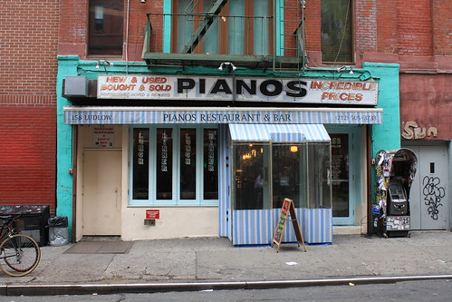 Pianos at Ludlow and Stanton